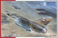 Special Hobby 72386 Mirage F.1 EQ/ED Modellbau 1:72 Flugzeug Dassault Jet