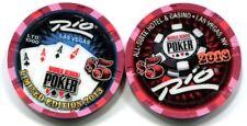 $5 Las Vegas RIO World Series of Poker 2013 Casino Chip - 4 Aces