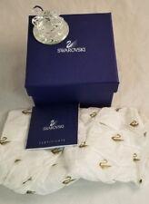 "1"" Swarovski Crystal Mini Swan Figurine Beautiful Miniature Glass Bird w/Box!"