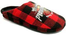 DE FONSECA ciabatte pantofole uomo invernali  mod. FIRENZE M206 rosso slippers