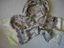 Vintage TOOTAL scarf/muffler Paisley Design