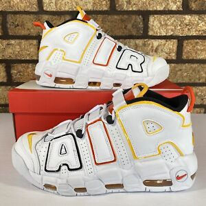 🏀 Nike Air More Uptempo (DD9223-100) 'Roswell Raygun' Sneakers 🏀