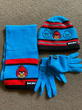 Angry Birds Hat, Gloves and Scarf set – age 8-12 years