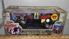 1/18 ERTL AMERICAN MUSCLE THE MUNSTERS TV SHOW MUNSTER KOACH BLACK yd