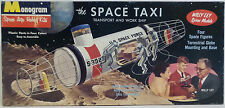 SPACE : THE SPACE TAXI MODEL KIT MADE BY MONOGRAM IN 1959 - VINTAGE KIT