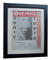SONIC YOUTH+Dirty+POSTER+AD+ORIGINAL 1992+TOP QUALITY FRAMED+EXPRESS GLOBAL SHIP