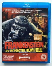 Frankenstein and the Monster from Hell - Blu-ray + DVD 3 disc Hammer Horror