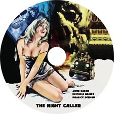 The Night Caller (1965 Britsh Sci-Fi film) Mod Dvd disc only