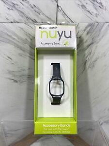 HEALTH-O-METER NUYU Accessory Band for Personal Activity Monitor Charcoal Gray