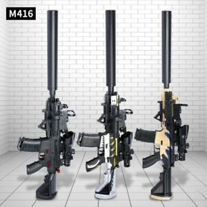 NEW M416 Electric Automatic Rifle Water Bullet Bomb Gel Sniper Gun Toy