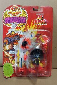 Mighty Max Lava Beast Battle Warriors Challenge #3 Spanish 1994 New MATTEL