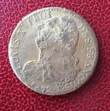 France - Louis XVI - Constitution Très Jolie Monnaie de 2 Sols 1792 W - Arrras