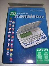 A 20 LANGUAGE TRANSLATOR TG-112.