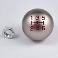 SILVER TYPE-R 5 SPEED MANUAL RACING SHIFT KNOB MT M10X1.5 FITS HONDA ACURA JDM