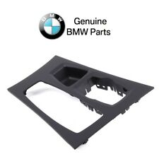 For BMW E70 E71 Center Console Trim Cover Black GENUINE 51169164485