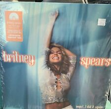 CLEAR BLUE Britney Spears OOPS! I DID IT AGAIN B-sides & Remixes Vinyl RSD 2020