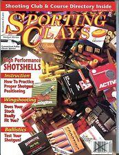 Sporting Clays Magazine September 1994 Shotshells EX No ML 092816jhe