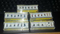 N Gauge Noch Figures people men women children animals accessories various