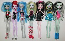 Monster High Doll lot of 7
