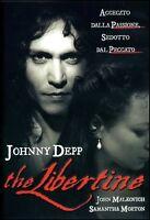 The Libertine (2004) DVD Johnny Deep come nuovo raro fuori catalogo no editor.