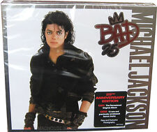 MICHAEL JACKSON CD x 2 Bad UK 25th Anniversary SLIP BOX Demos Unreleased Remixes