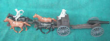 Classic Toy Soldiers Civil War Confederate 4 horse Limber and 12lb. cannon +crew