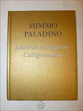"""ARTE MIMMO PALADINO Catalogo """"Dipinti Semplici"""" Waddington 1997 Transavanguardia"""