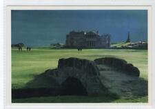 18th Fairway & Clubhouse, Old Course, St Andrews: Fife postcard (C31253)