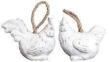 Ceramic Chicken Hen Rooster Cockerel Doorstop Stopper Door Stop ~ Design Varies