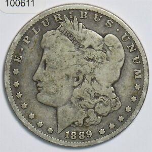 1889-O Morgan Dollar Silver 100611 *SFCOIN