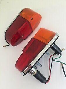 BHA4228/BHA4229 - LUCAS MODEL L647 PAIR REAR LAMPS MG MGA1600 MK2 LUCAS 53797/8