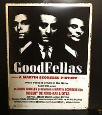 Good Fellas Classic Movie Poster Wall Decor Garage Metal Sign 30x40 Cm Cinema