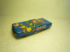 NICE  LITTLE  VINTAGE  TIN  CAR  DUCK  TN  NOMURA  MADE  IN  JAPAN