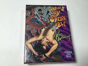 """Vintage ROBERT WILLIAMS """"Window Into The Unspeakable"""" Trading Card Set"""