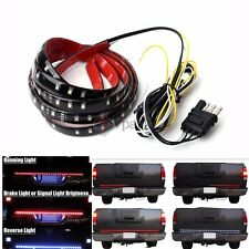 "60"" Tailgate Red White LED Reverse Brake Signal Light Strip for Ford Truck SUV"