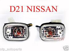 FOR NISSAN NAVARA D21 UTE 86-97 CRYSTAL SIDE TURN SIGNAL BLINKER INDICATOR LIGHT