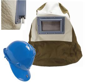 SAND BLASTING HOOD BUILT IN SAFETY HELMET SANDBLASTING HOOD SAFETY HELMET