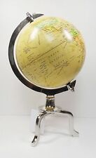 Decorative Spinning Metal PVC Globe  UMA 28389