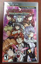 Growlanser: Wayfarer of Time (Sony PSP, 2012) NEW FACTORY SEALED