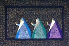 New Paper Pieced Wallhanging Quilt Pattern THREE WISEMEN   24x36