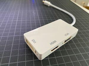 Monitoradapter Minis Displa to DVI, HDMI, VGA Adapter