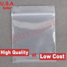 1000 4 Mil 6X10 Zip Reclosable Lock Poly Bag Zipper Clear Plastic Packaging Bags