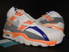 NIKE AIR TRAINER SC HIGH MAX BO JACKSON AUBURN WHITE GREY ORANGE 302346-106 9.5