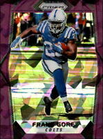 2017 Panini Prizm Football Purple Crystal Parallel Singles (Pick Your Cards)