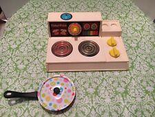 Vintage Fisher Price Stove Top With Bonus Pan