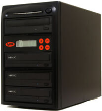 3 Burner Mdisc DVD CD Duplicator Copier Multi Duplication Tower LG Duplication