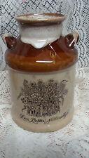 Vintage ENESCO Utensil Holder..LONG STICK MATCH  Ceramic MILK CAN  Kitchenware