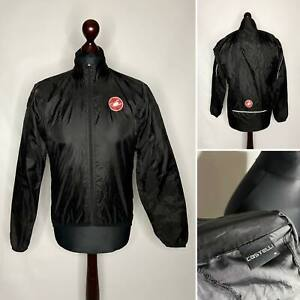 Castelli Men's Cycling Windbreaker Jacket Size M