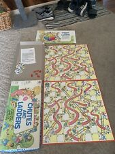 Chutes and ladders board 1979 game