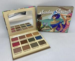IBY Beauty Sunday Brunch 12 Pan Eyeshadow Palette Mattes & Metallics